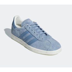 NEW B37813 Adidas Gazelle Stitch Turn Baby Blue